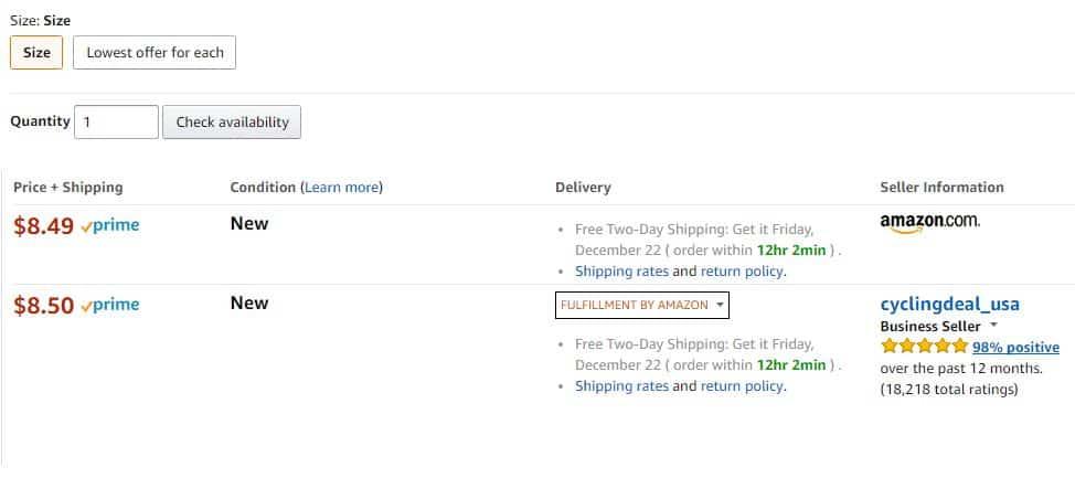 FBA sellers and Amazon